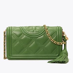 Tory Burch Kelly Green bag
